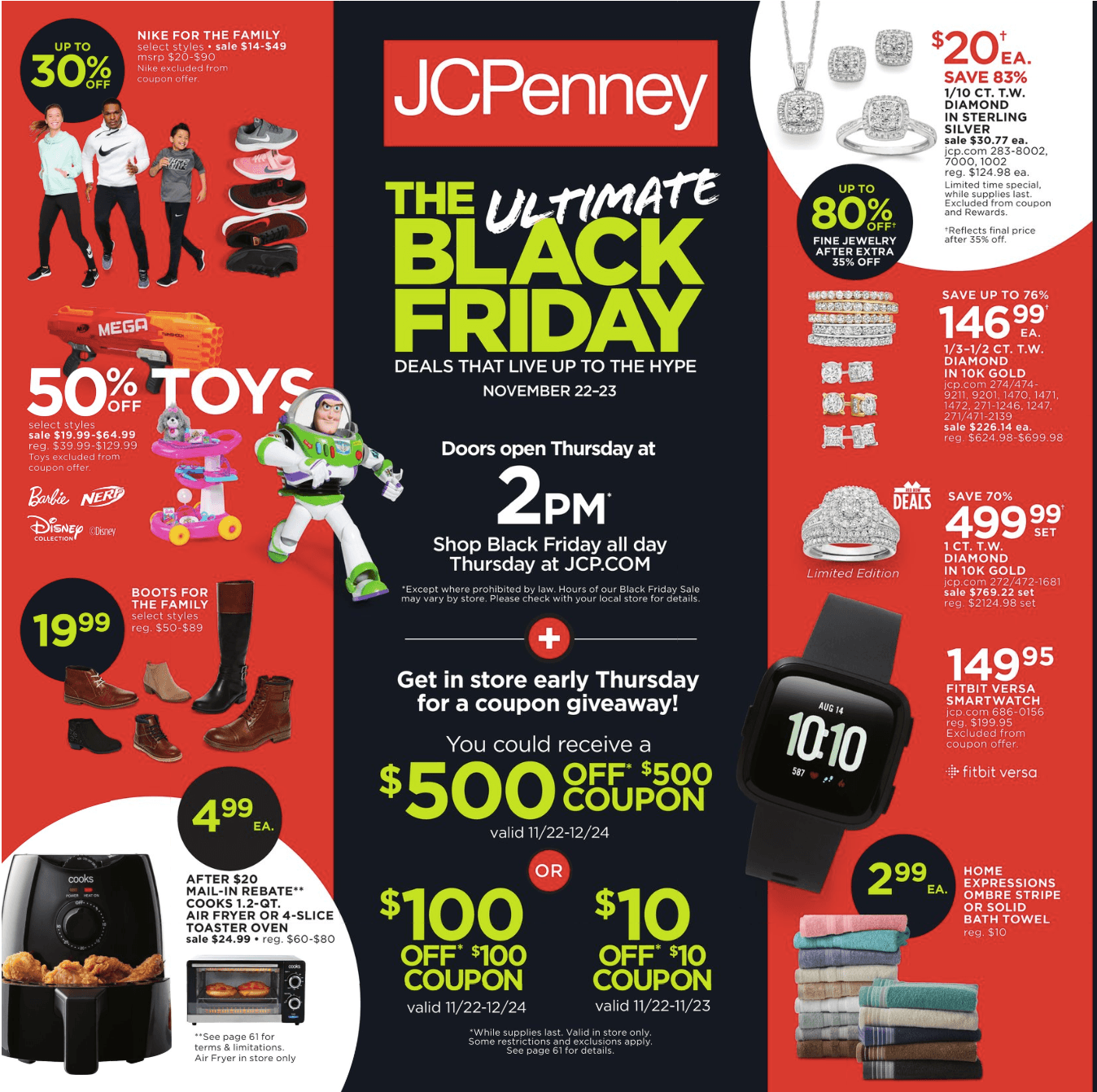 460964c6e JCPenney Black Friday 2018 Ad, Deals and Sales - Savings.com