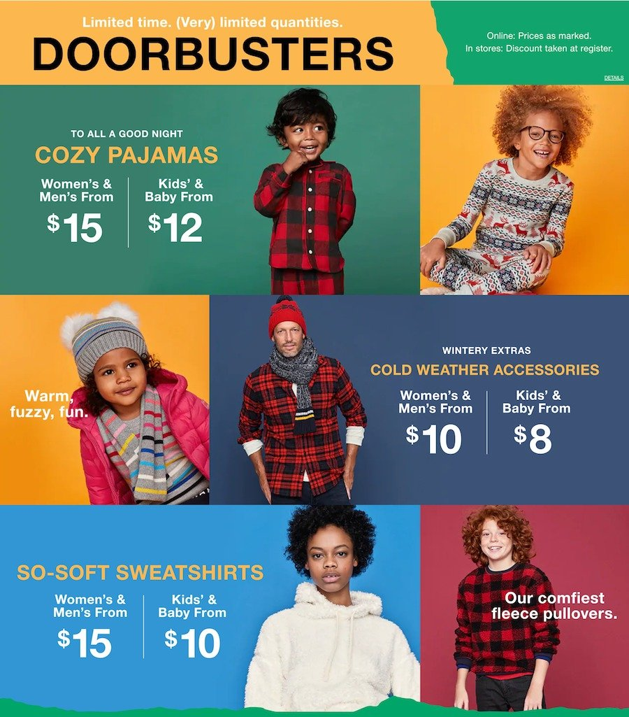 GAP Black Friday 2018 Page 2