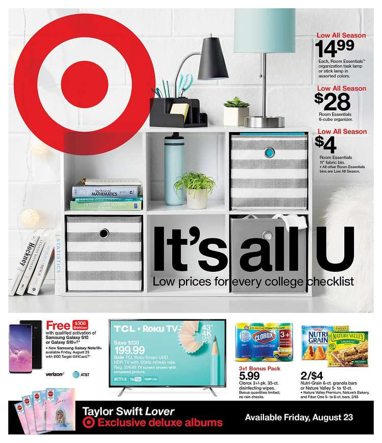 Target Weekly August 18 - 24, 2019 Page 1