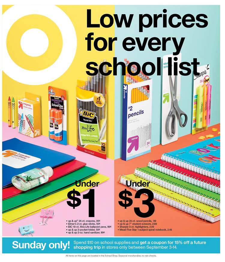Target Weekly August 25 - 31, 2019 Ad, Deals and Sales