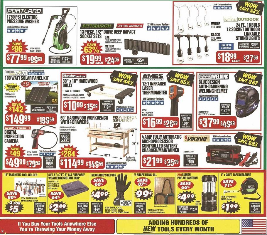 Harbor Freight Black Friday 2019 Page 4