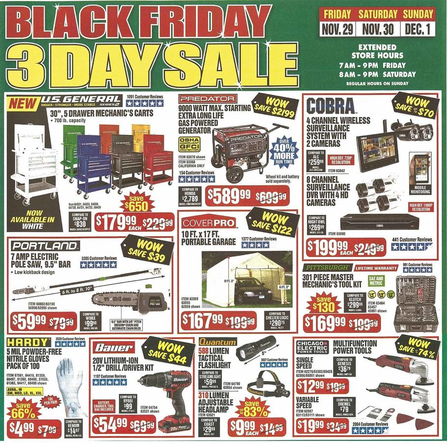 Harbor Freight Black Friday 2019 Page 7