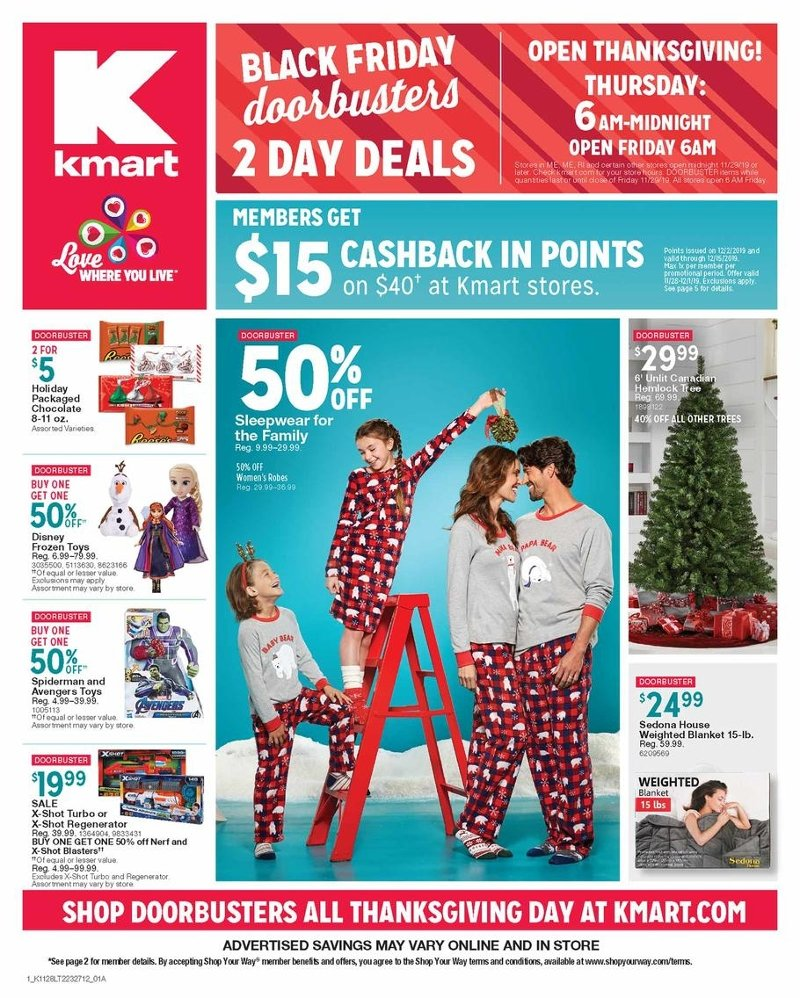 Kmart Black Friday 2019 Page 1