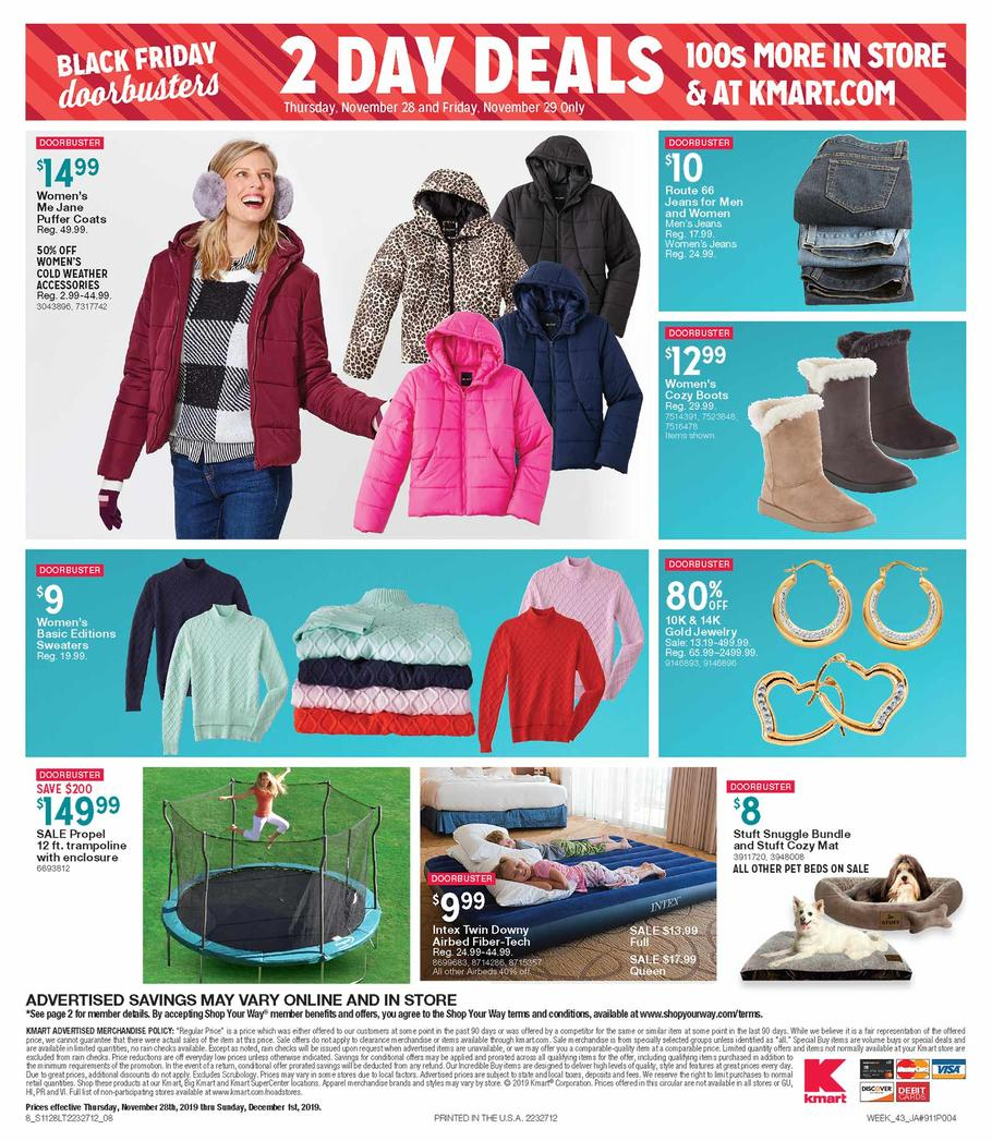 Kmart Black Friday 2019 Page 8