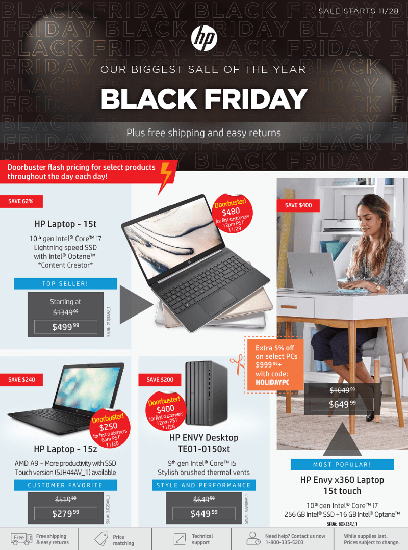 HP Black Friday 2019 Page 1
