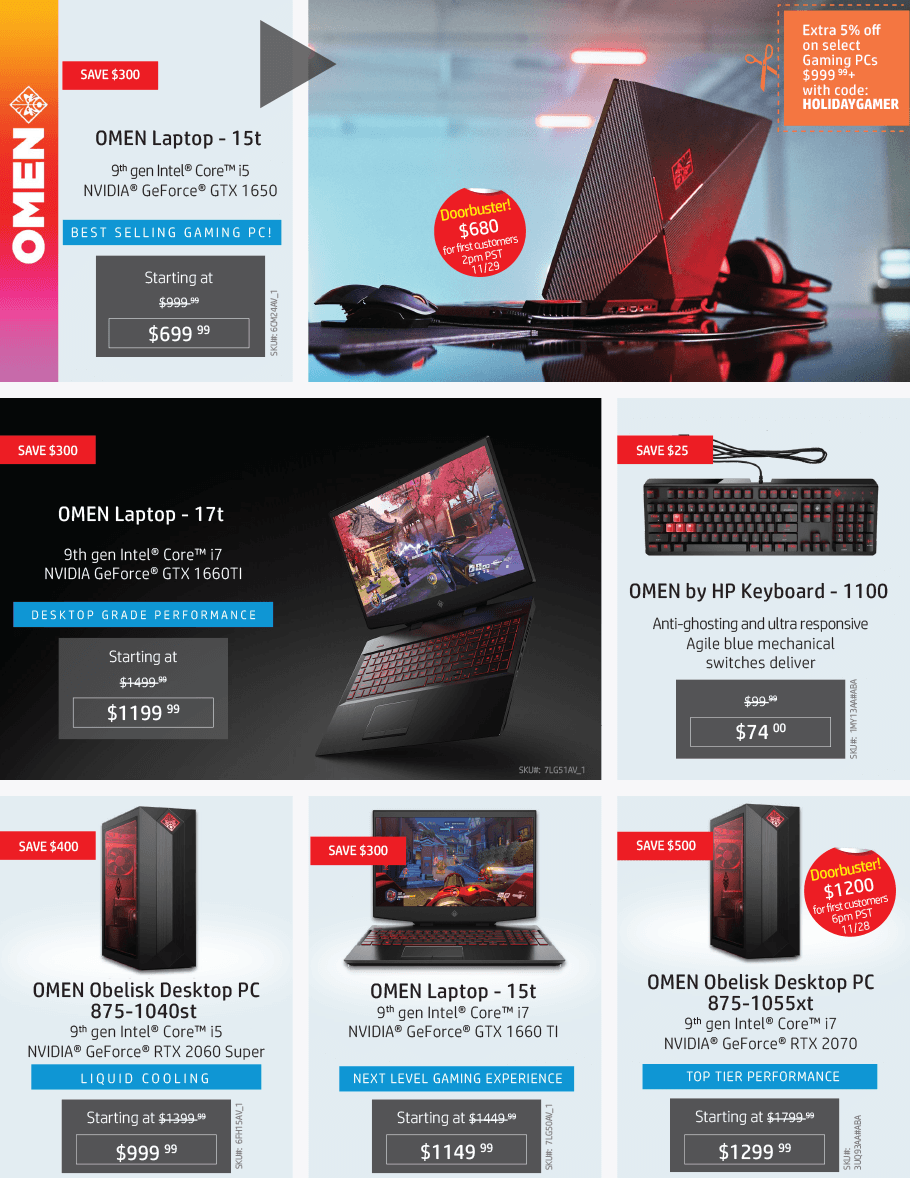 HP Black Friday 2019 Page 9