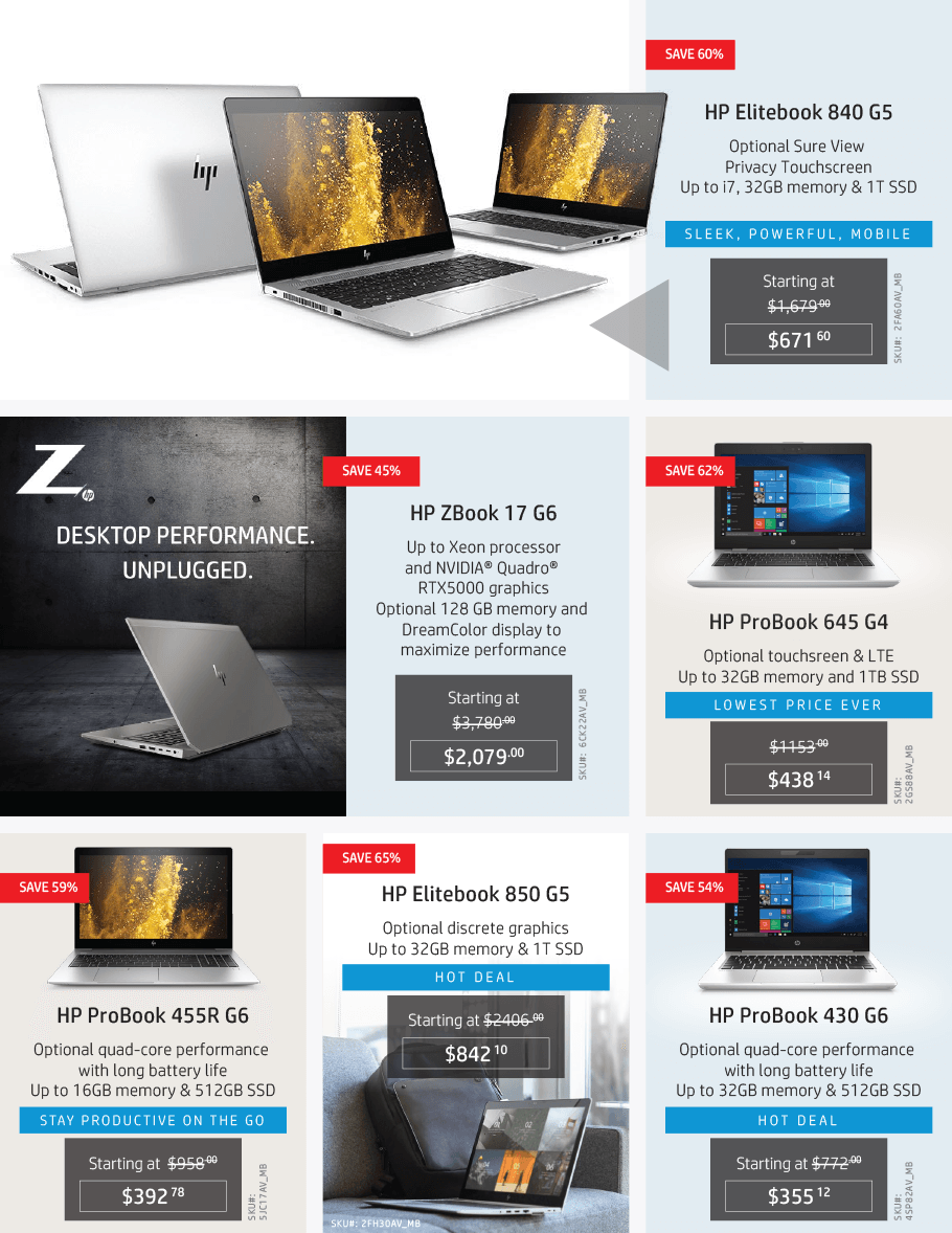 HP Black Friday 2019 Page 16
