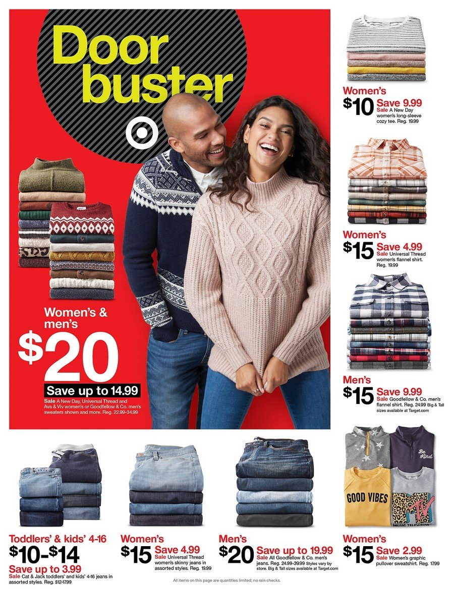 Target Black Friday 2019 Page 38
