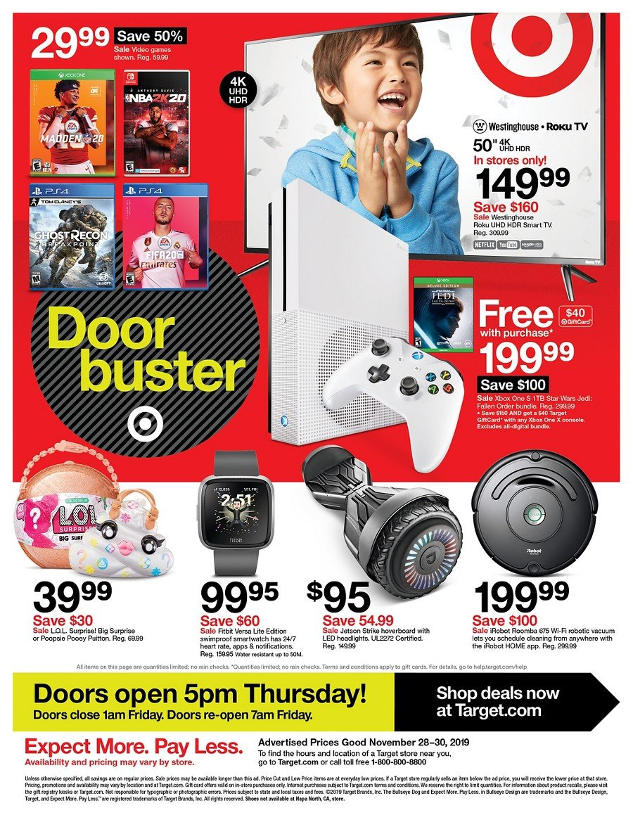 Target Black Friday 2019 Page 54