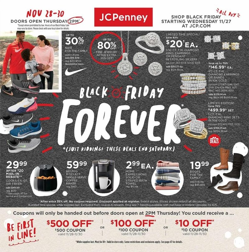 JCPenney Black Friday 2019 Page 1