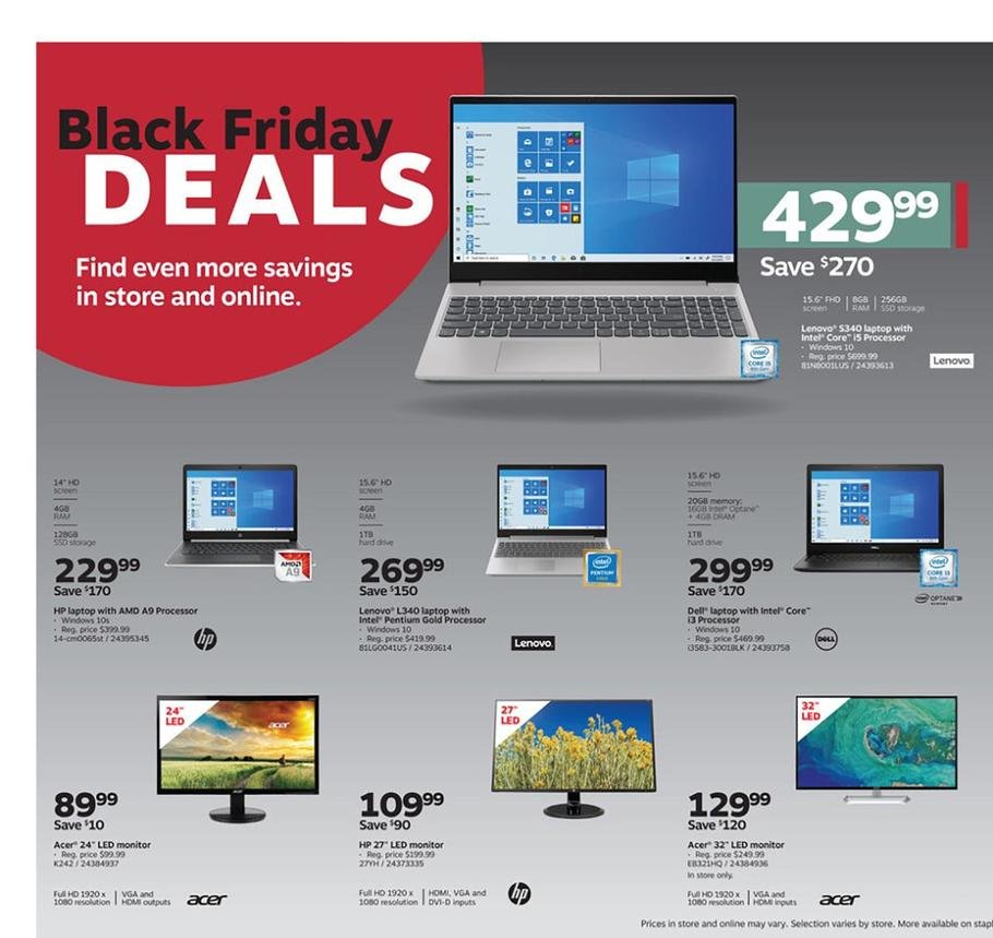 Staples Black Friday 2019 Page 3