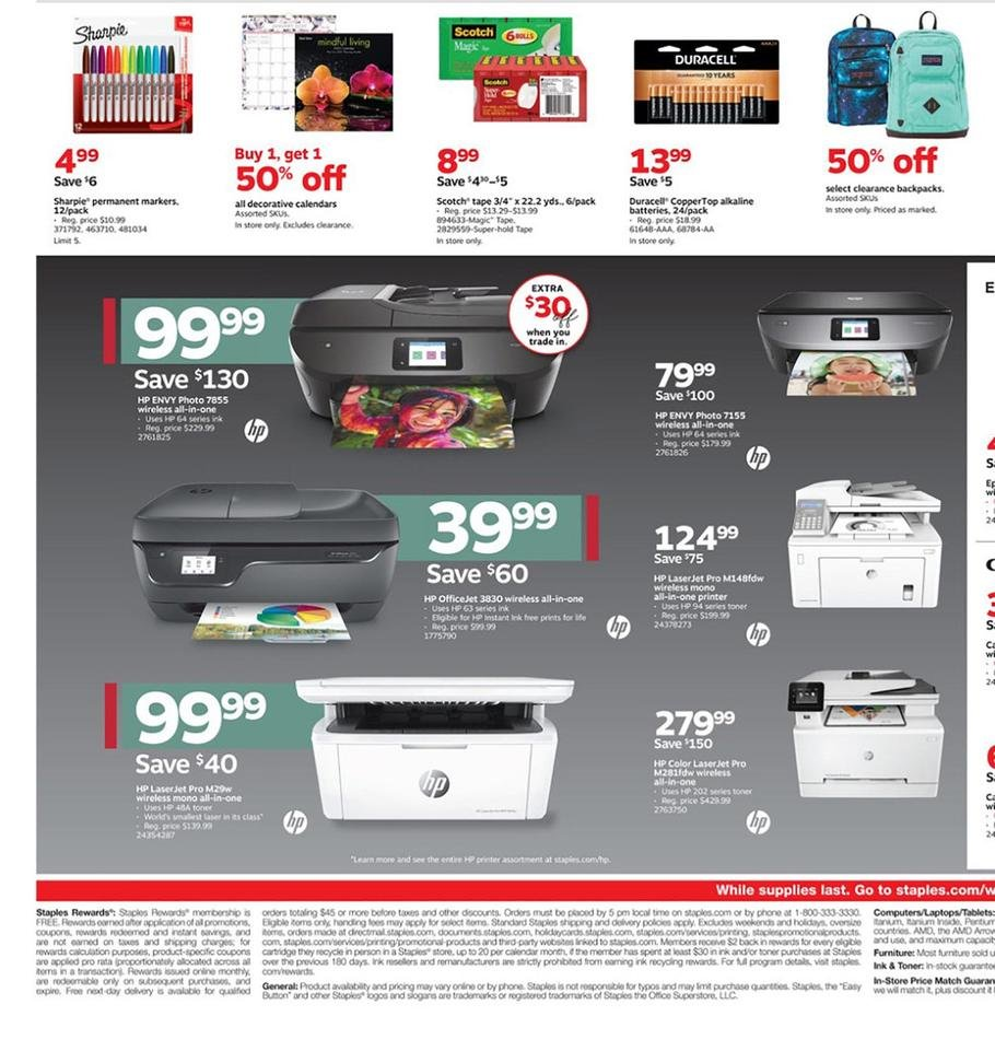 Staples Black Friday 2019 Page 4