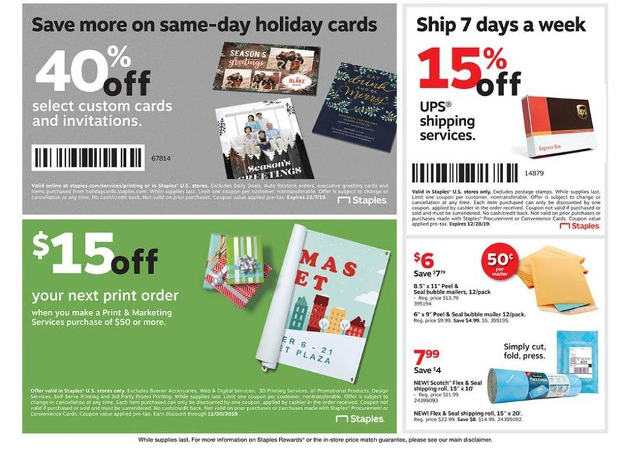 Staples Black Friday 2019 Page 8