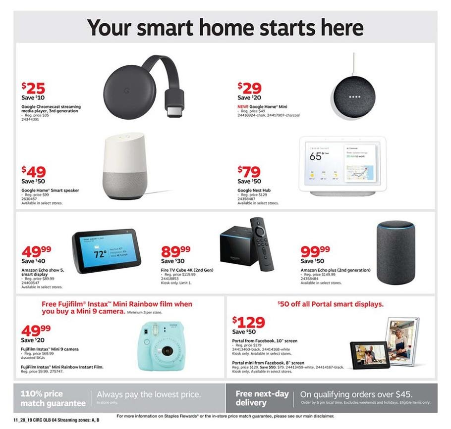 Staples Black Friday 2019 Page 12