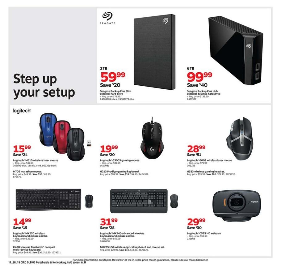 Staples Black Friday 2019 Page 13