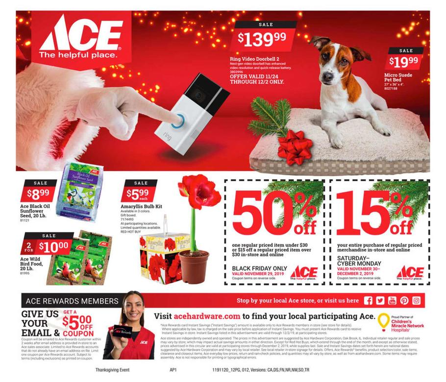 Ace Hardware Black Friday 2019 Page 12