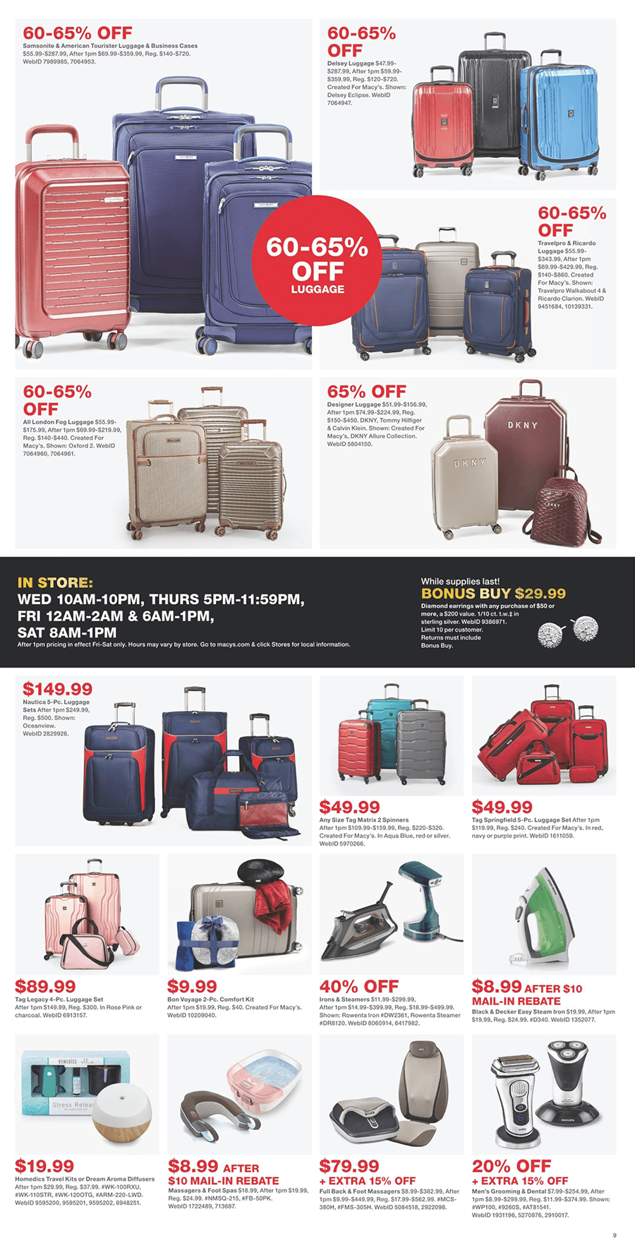 Macy's Black Friday 2019 Page 9