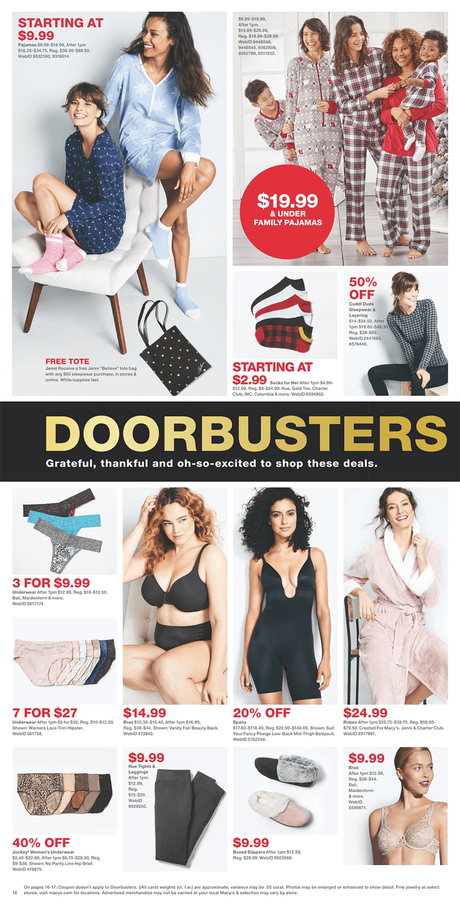 Macy's Black Friday 2019 Page 16