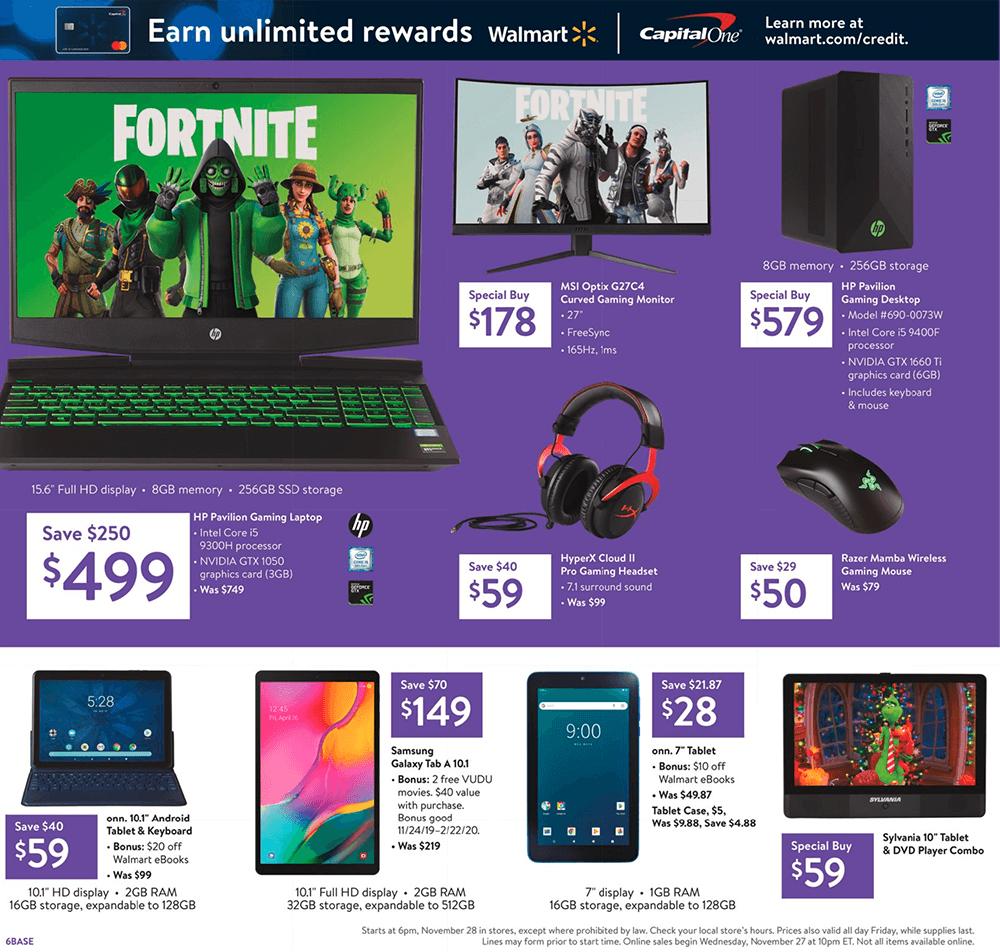 Walmart Black Friday 2019 Page 7