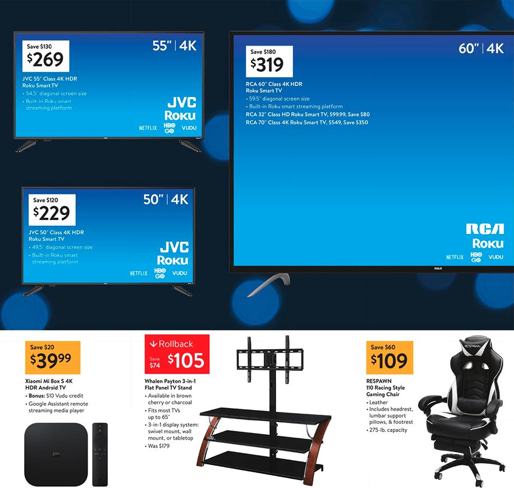 Outstanding Walmart Black Friday 2019 Ad Savings Com Andrewgaddart Wooden Chair Designs For Living Room Andrewgaddartcom