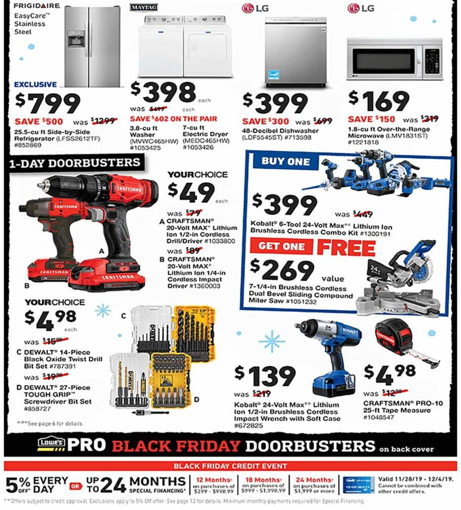 Lowe's Black Friday 2019 Page 2
