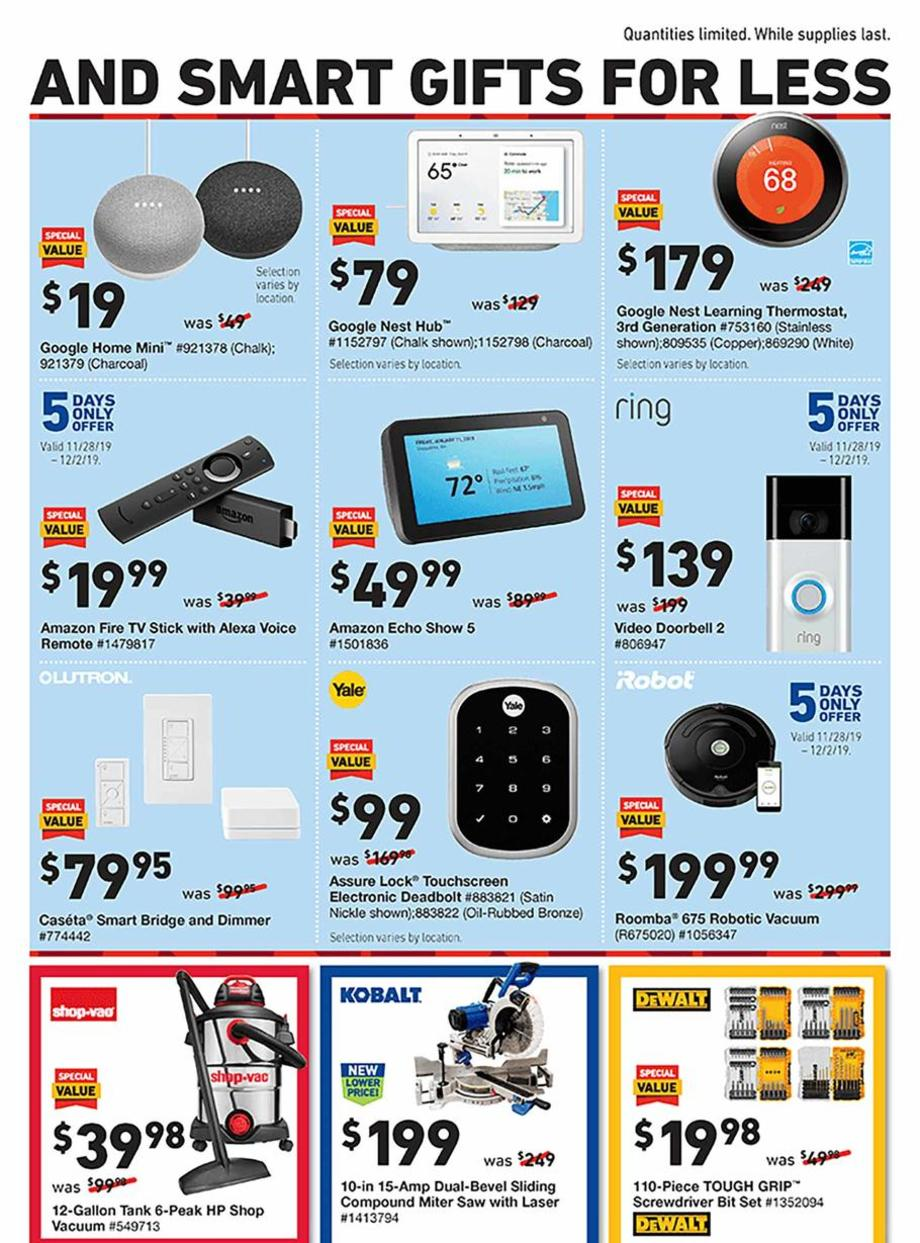 Lowe's Black Friday 2019 Page 3