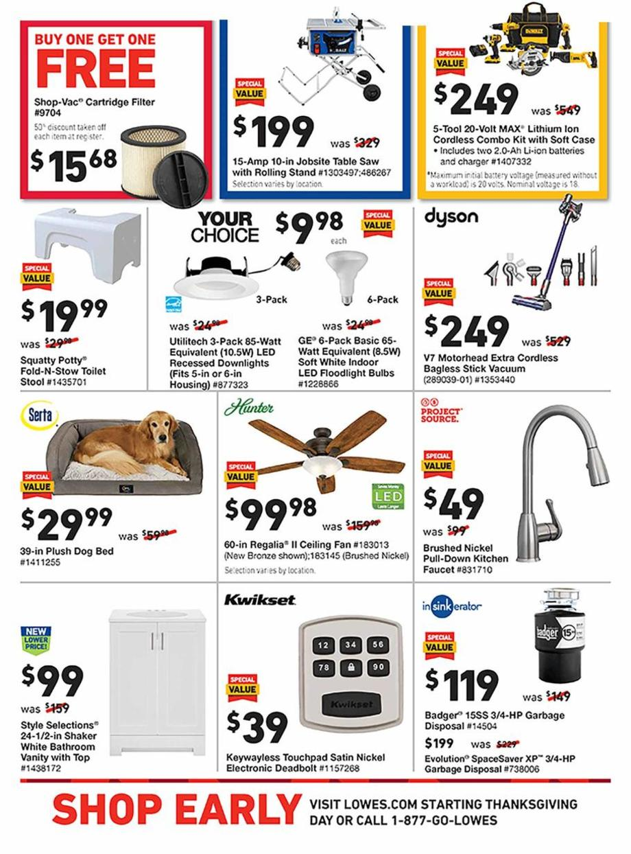 Lowe's Black Friday 2019 Page 4