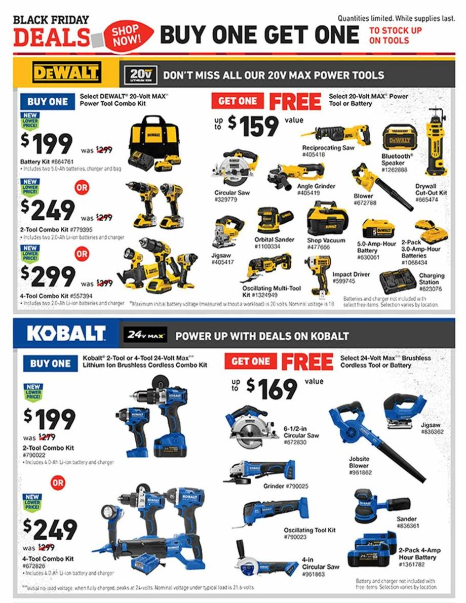 Lowe's Black Friday 2019 Page 11