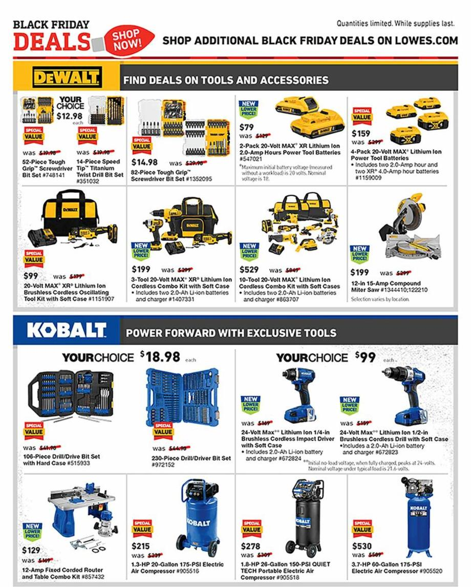 Lowe's Black Friday 2019 Page 13