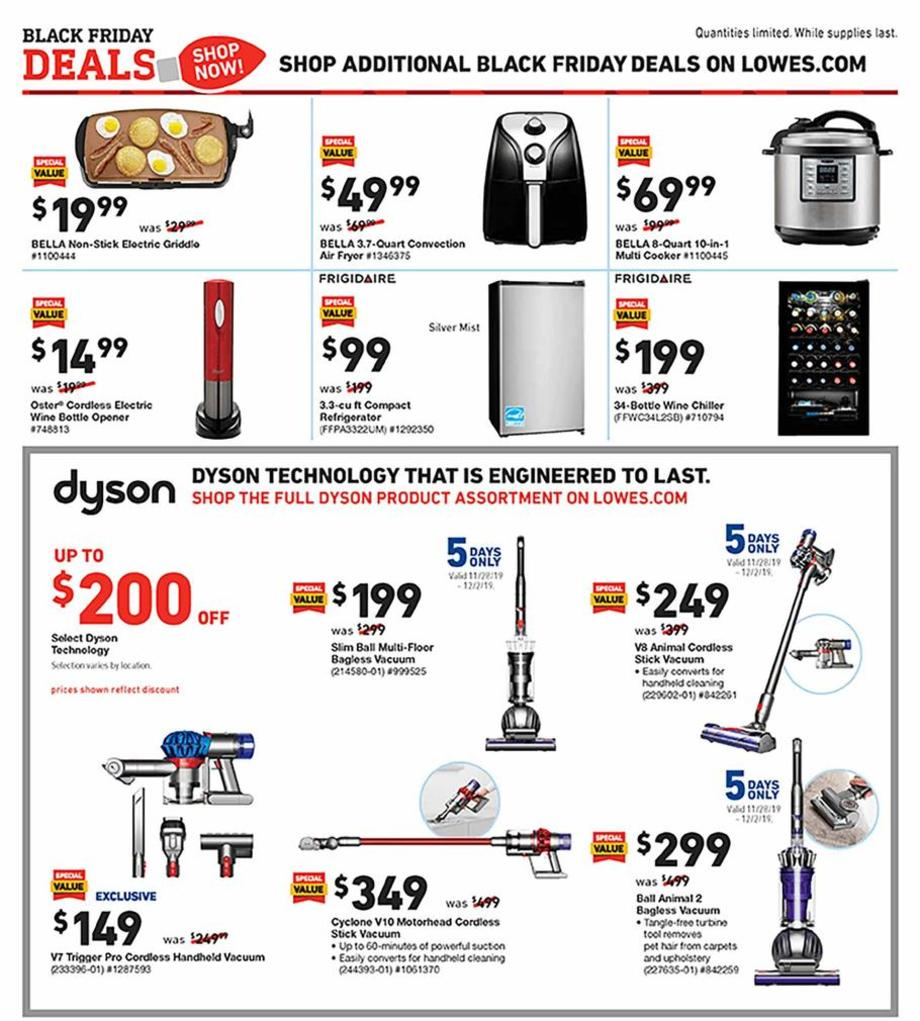 Lowe's Black Friday 2019 Page 21