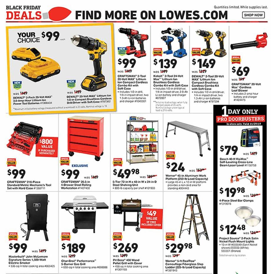 Lowe's Black Friday 2019 Page 27