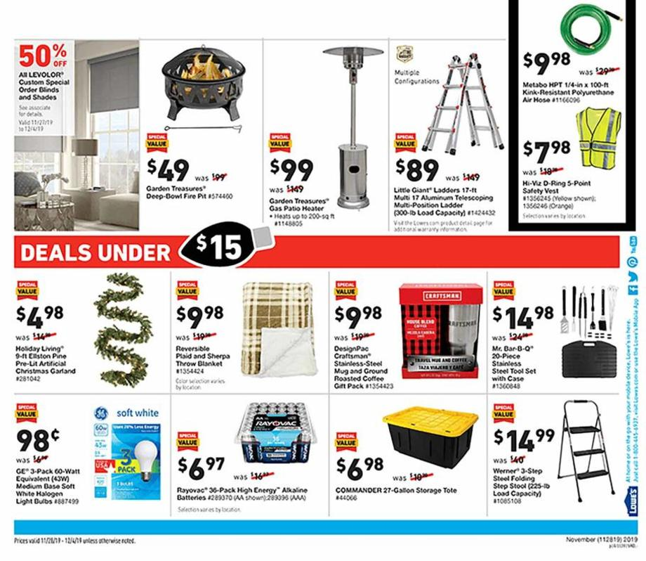 Lowe's Black Friday 2019 Page 28