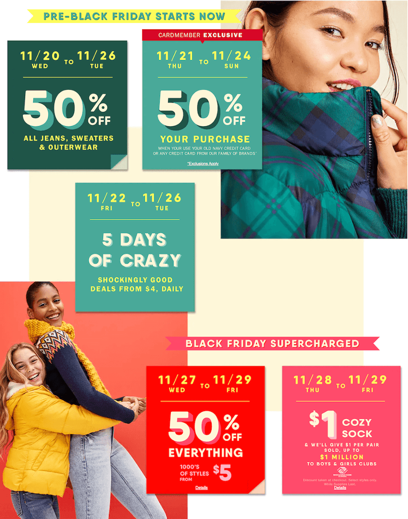 Old Navy Black Friday 2019 Page 1
