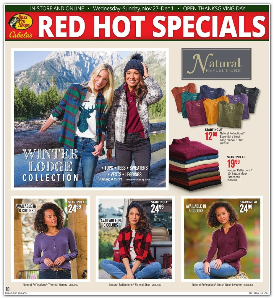 Bass Pro Shops and Cabela's Black Friday 2019 Page 18