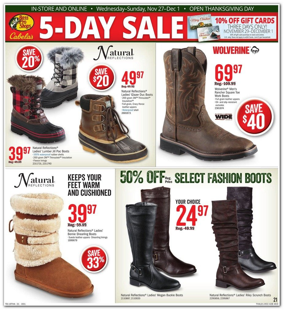Bass Pro Shops and Cabela's Black Friday 2019 Page 21