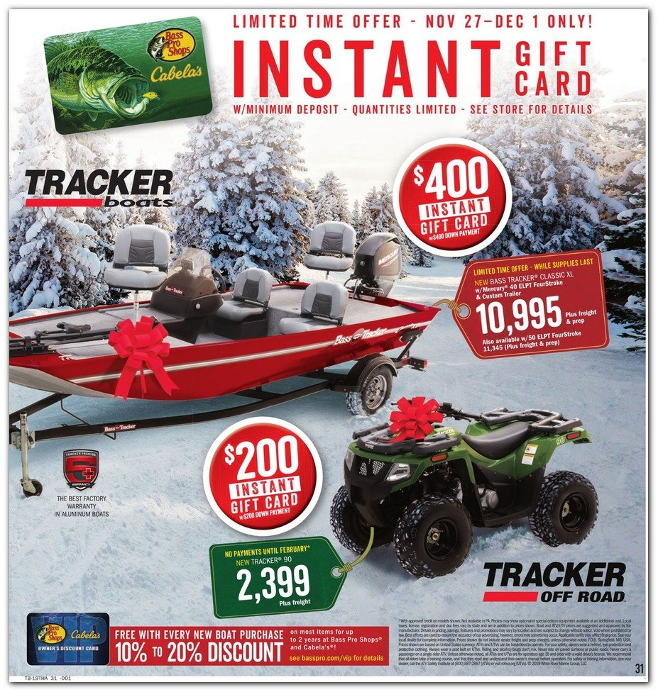 Bass Pro Shops and Cabela's Black Friday 2019 Page 31