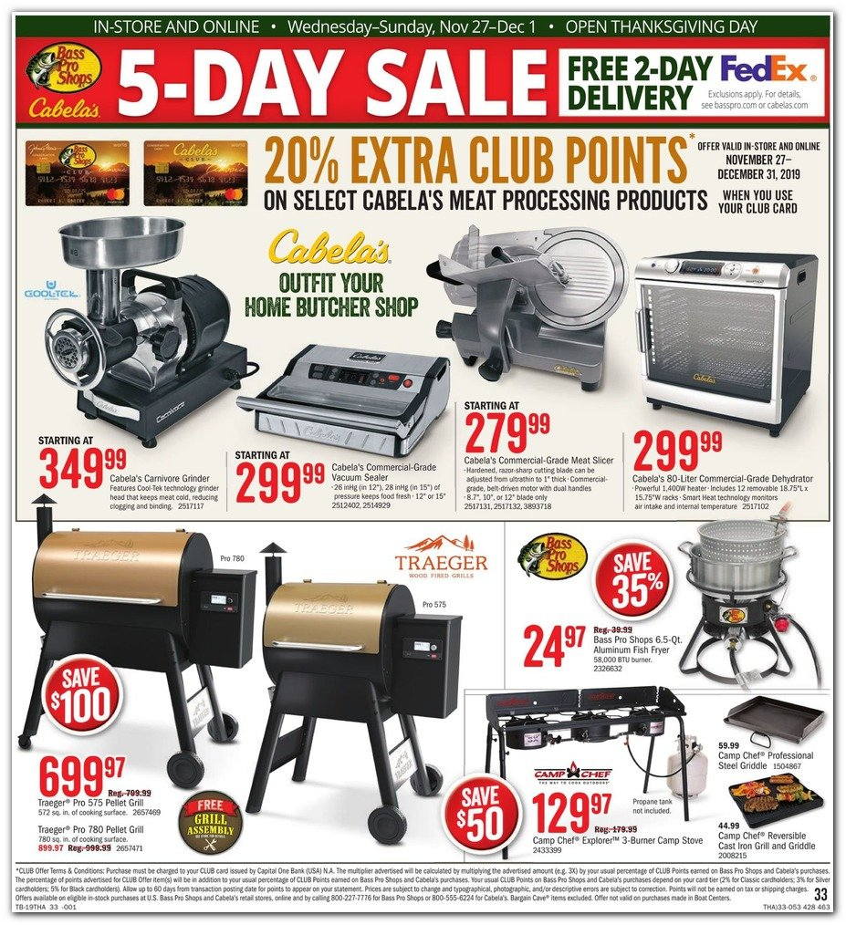 Bass Pro Shops and Cabela's Black Friday 2019 Page 35