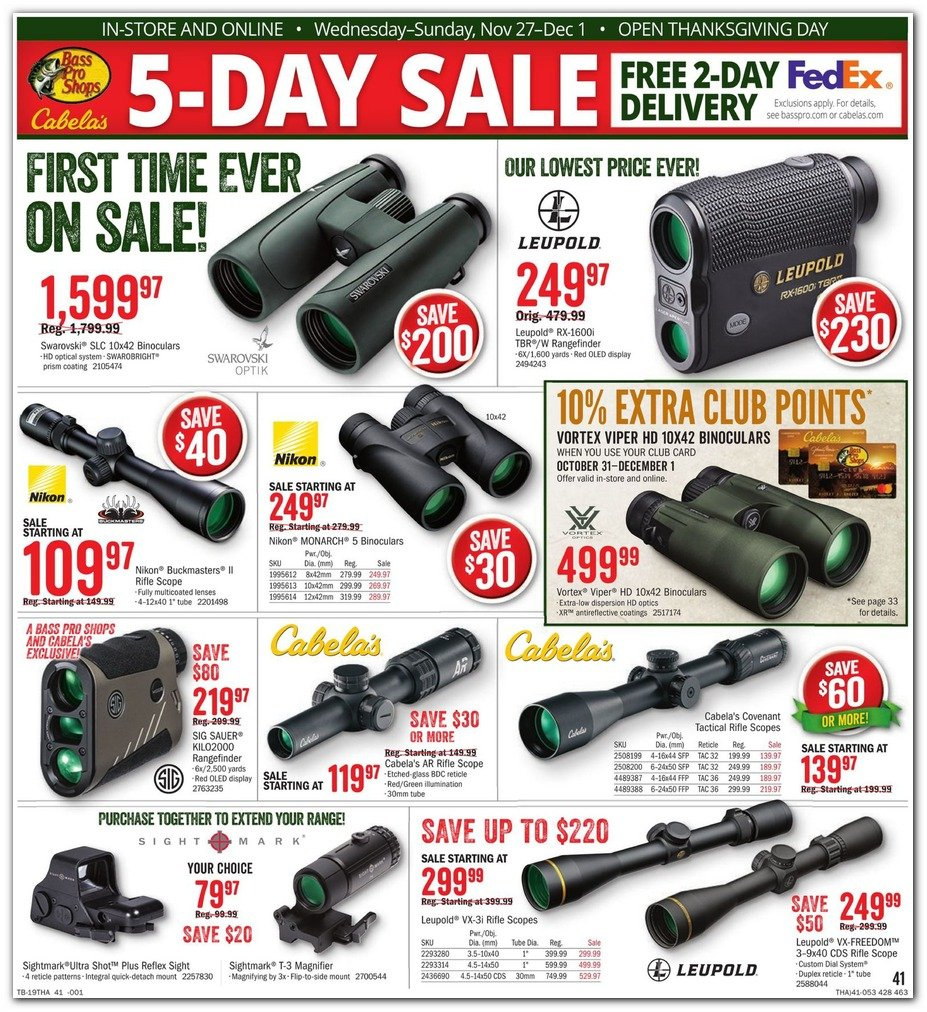 Bass Pro Shops and Cabela's Black Friday 2019 Page 43