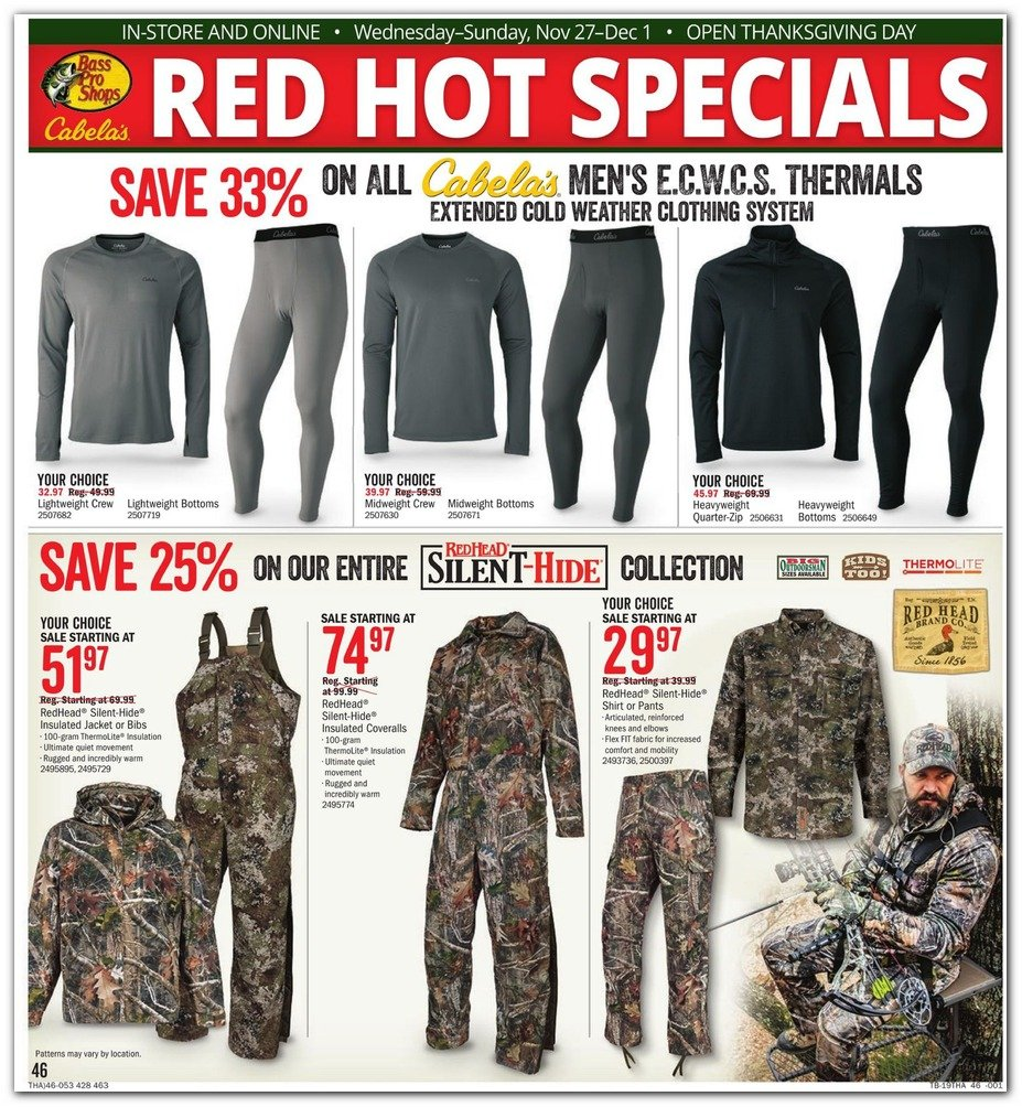 Bass Pro Shops and Cabela's Black Friday 2019 Page 48
