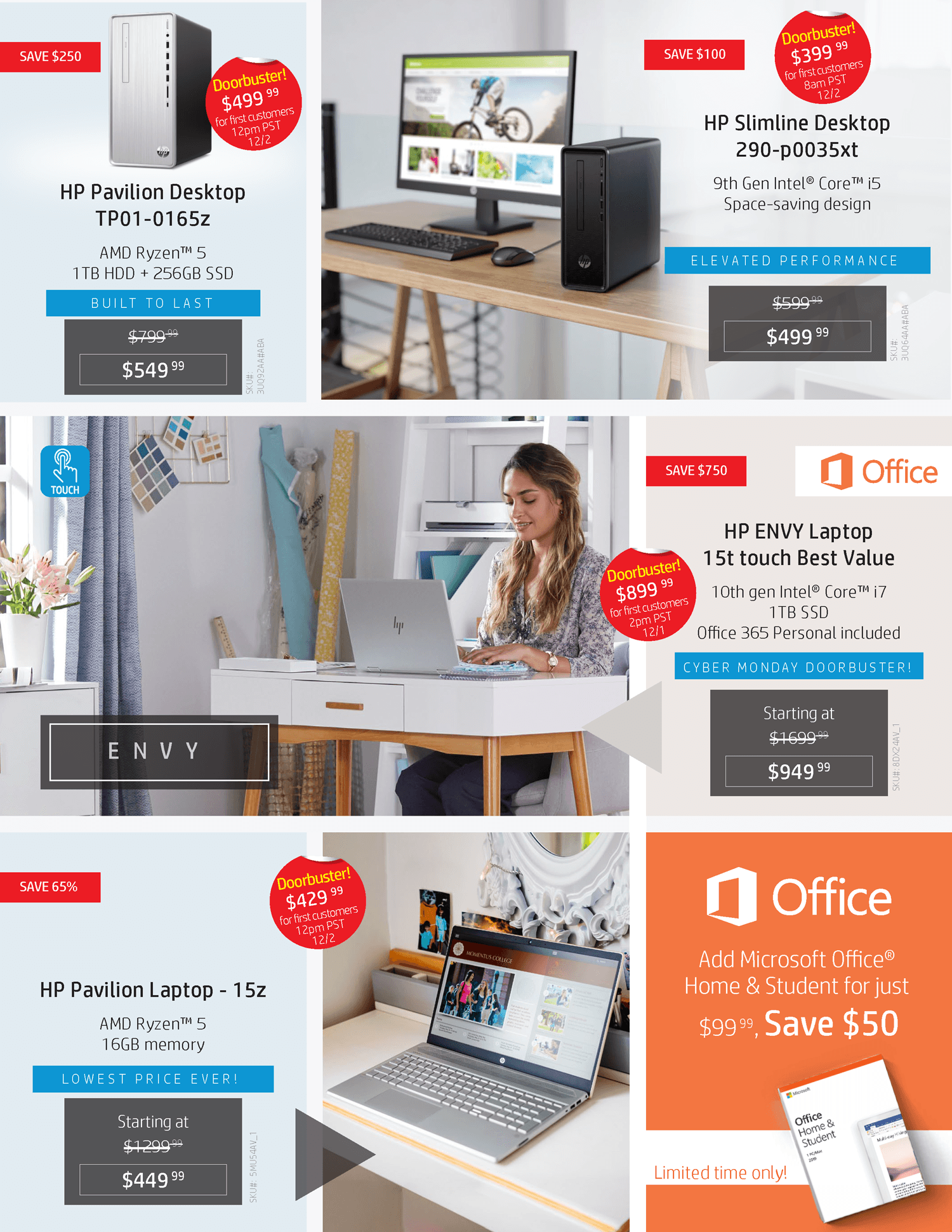 HP Cyber Monday 2019 Page 2