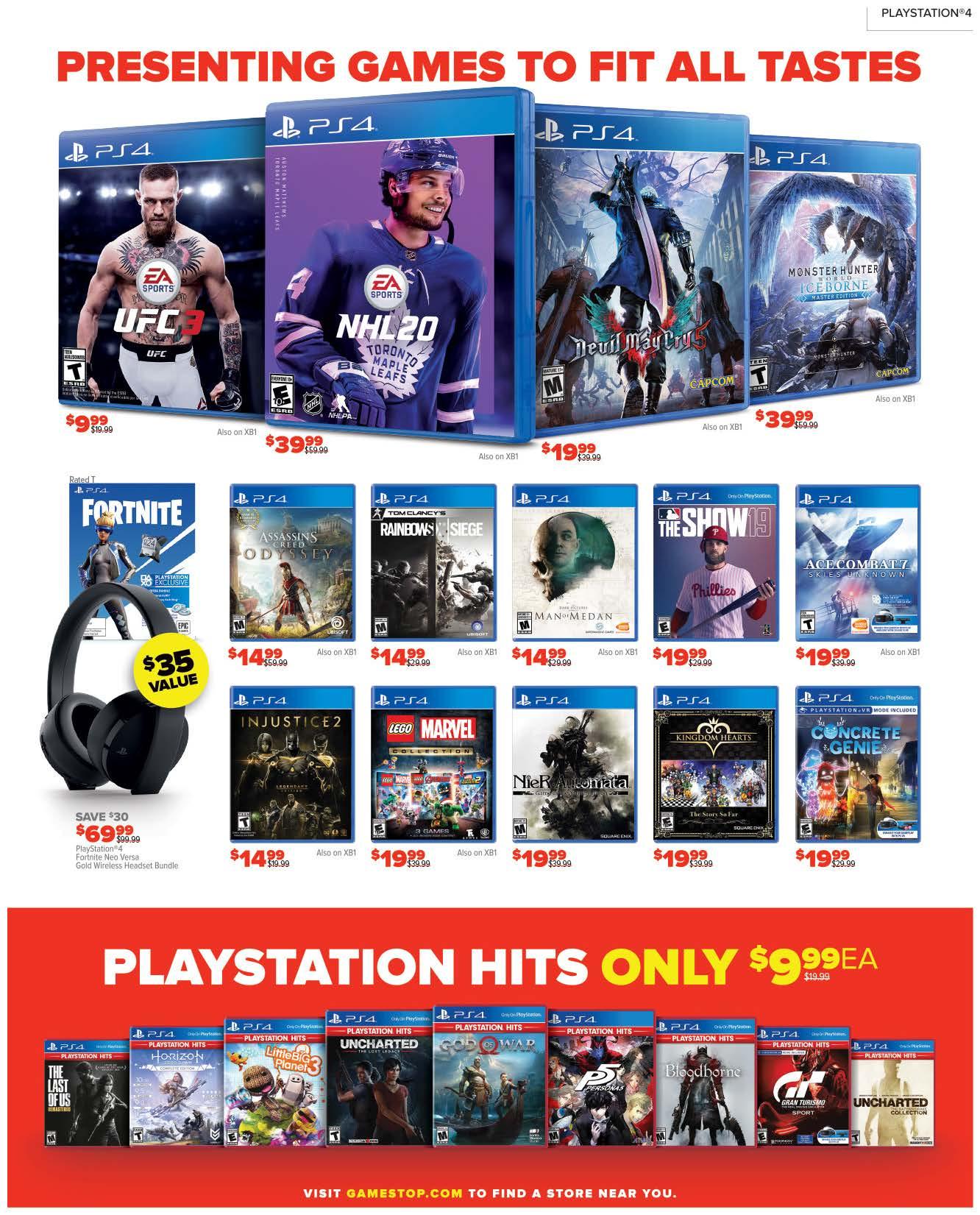 GameStop Black Friday 2019 Page 5
