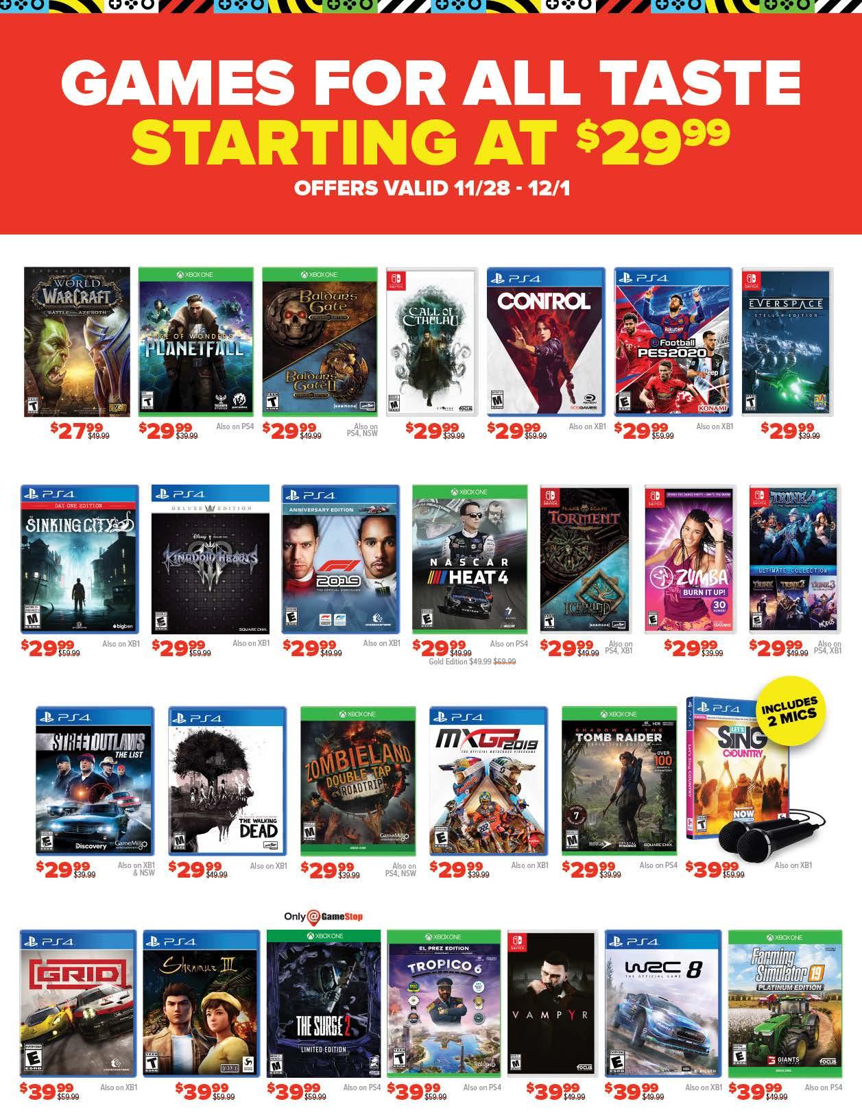 GameStop Black Friday 2019 Page 15
