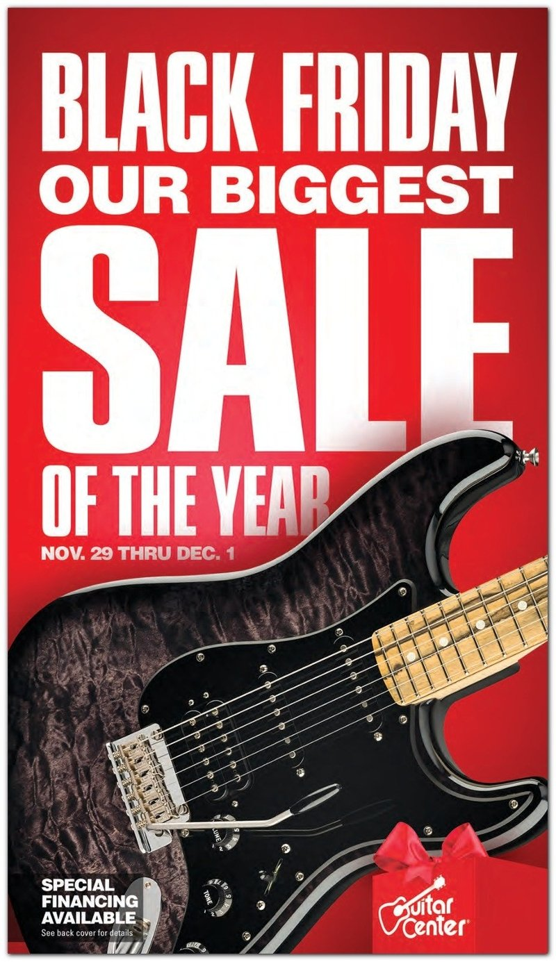 Guitar Center Black Friday 2019 Page 1