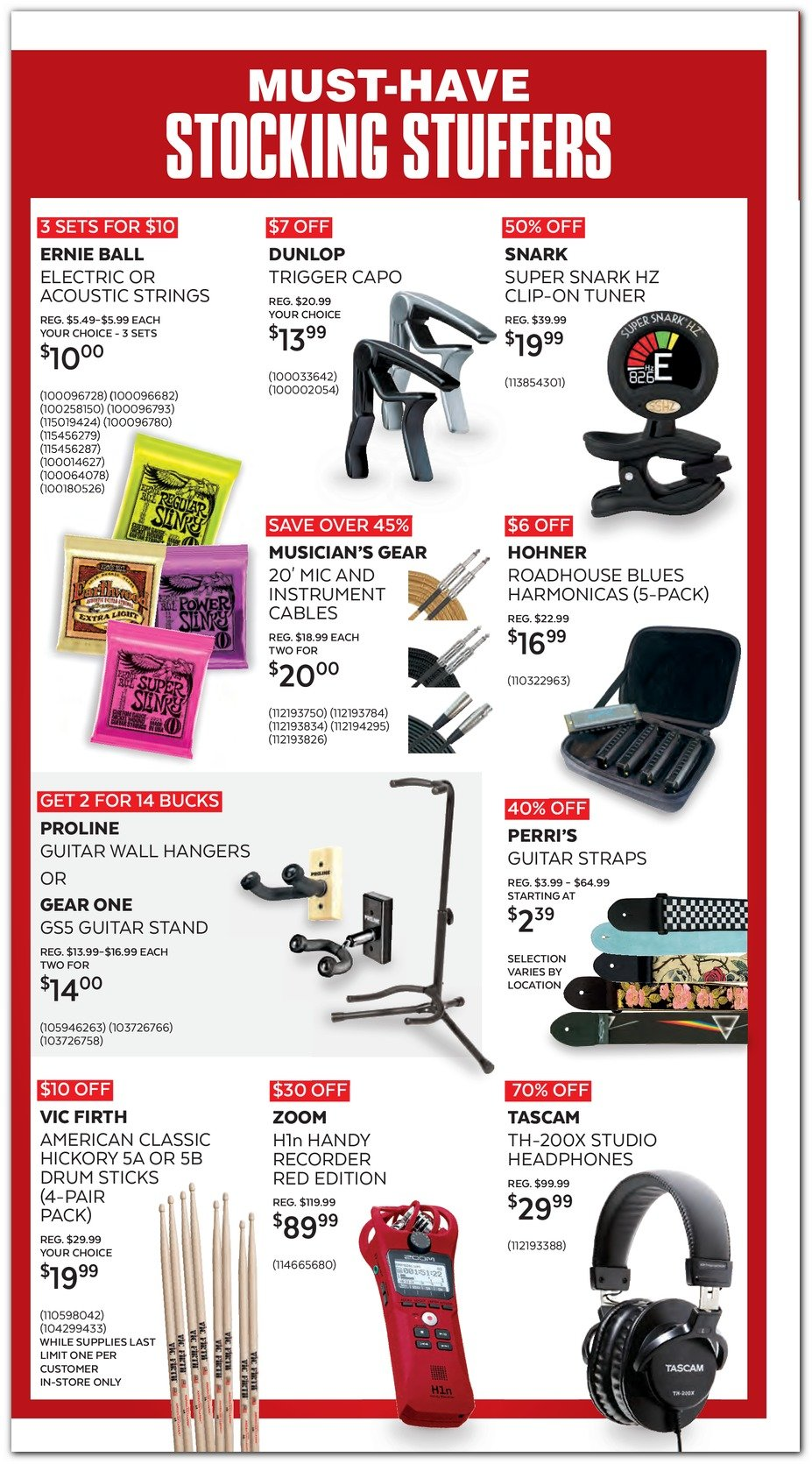 Guitar Center Black Friday 2019 Page 6