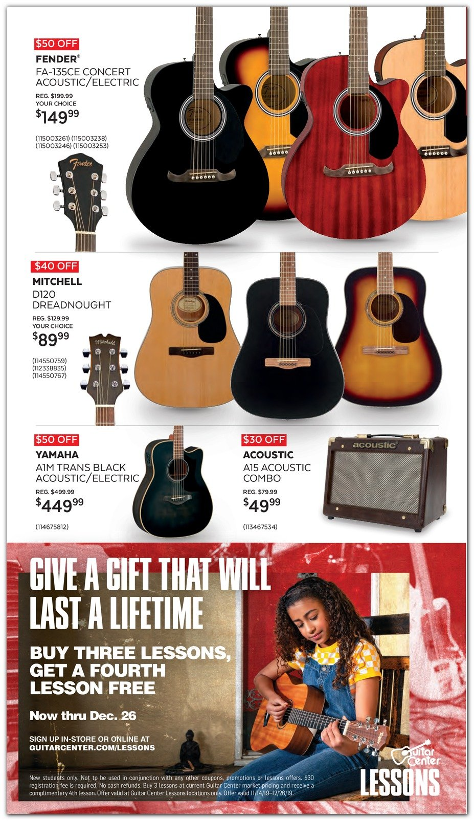 Guitar Center Black Friday 2019 Page 8