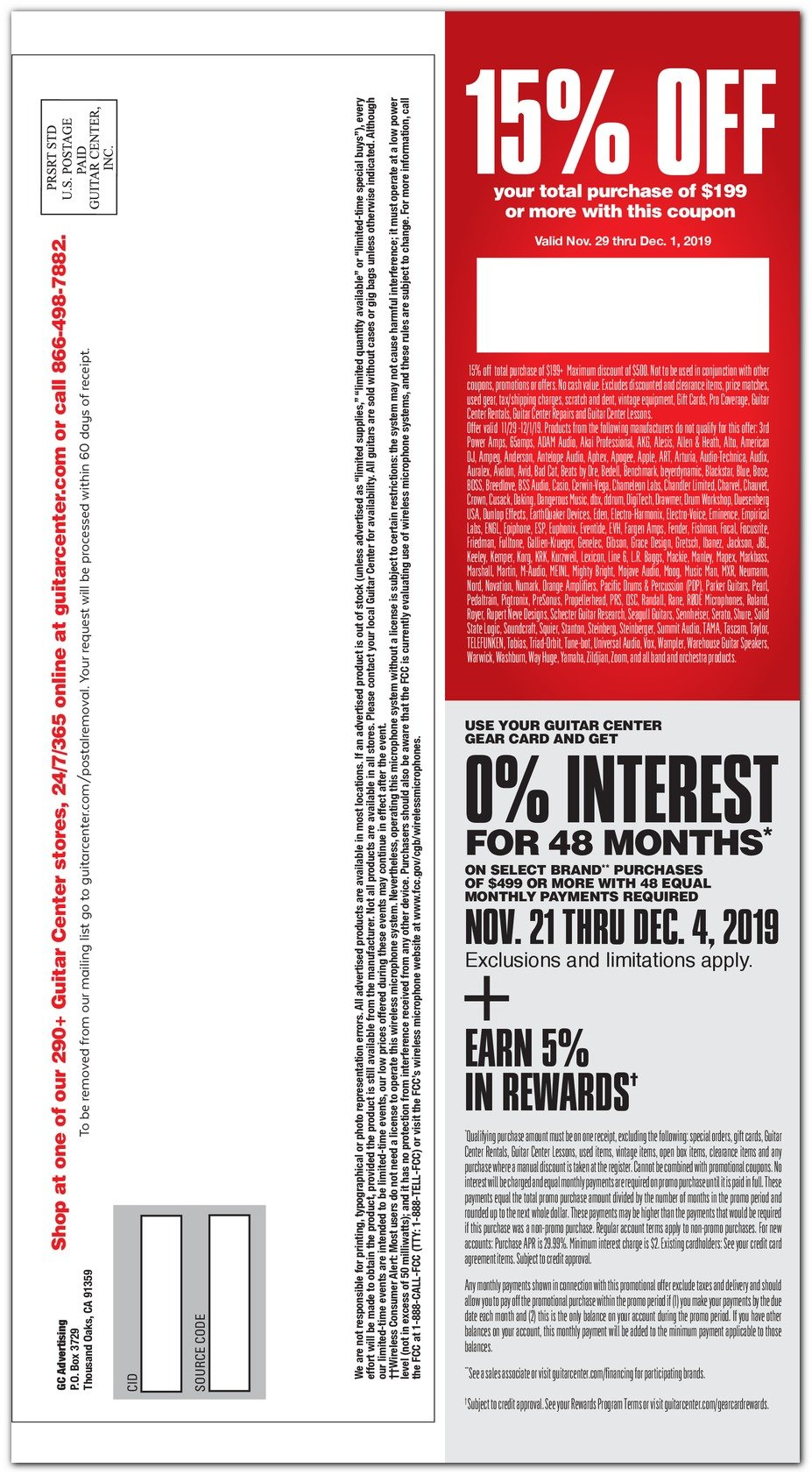 Guitar Center Black Friday 2019 Page 24