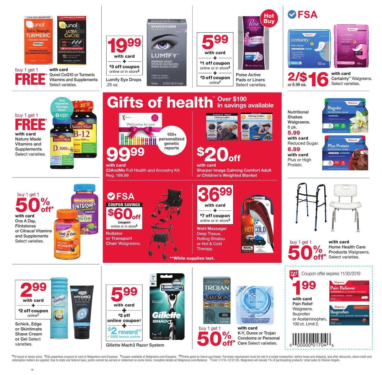 Walgreens Black Friday 2019 Page 8