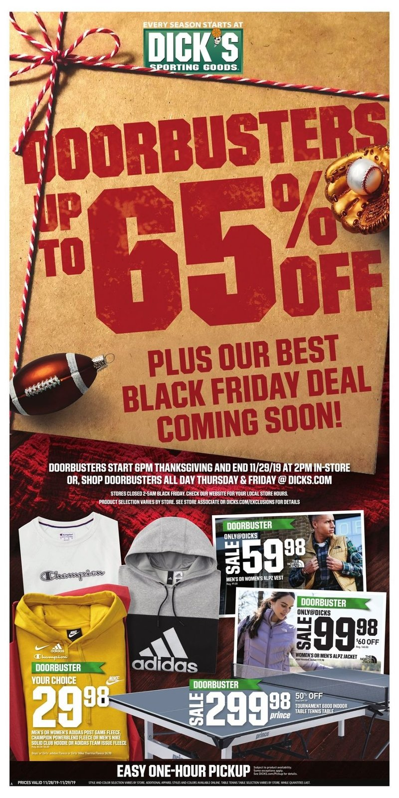 Dick's Sporting Goods Black Friday 2019 Page 1