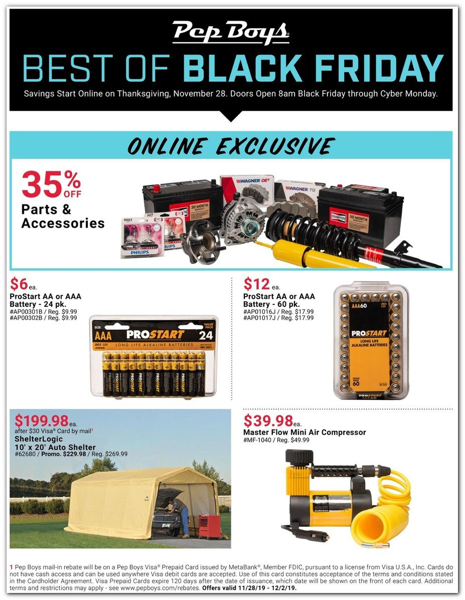 Pep Boys Black Friday 2019 Page 3