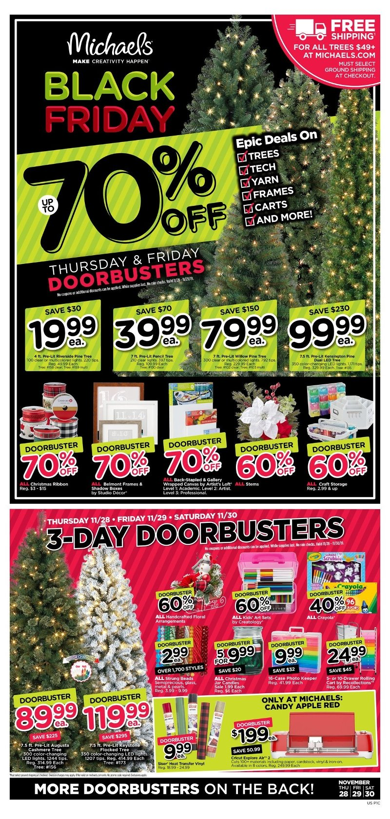 Michael's Black Friday 2019 Page 1